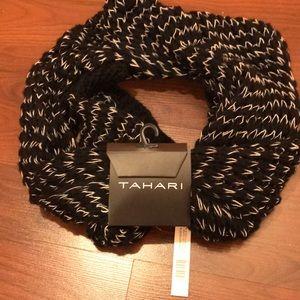 Tahari wrap around warm winter scarf